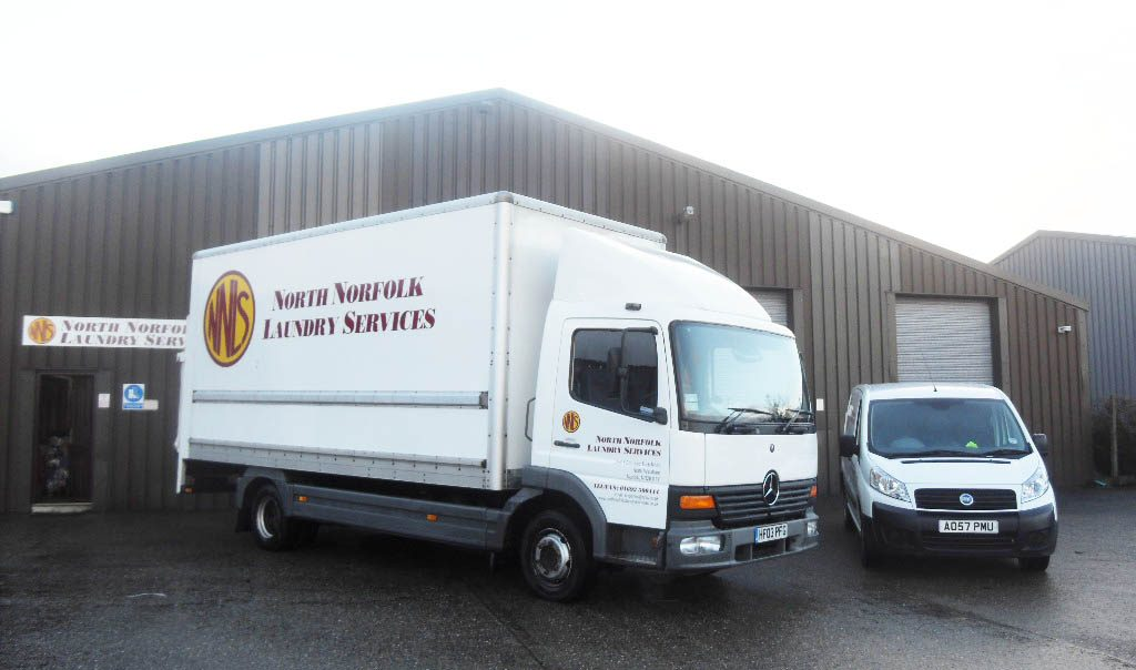 North Norfolk Laundry Services van